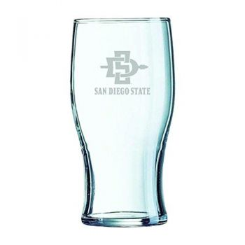 San Diego State University-Irish Pub Glass