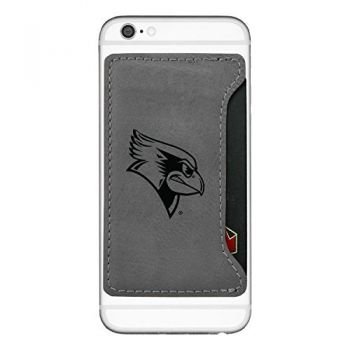 Illinois State University-Cell Phone Card Holder-Grey