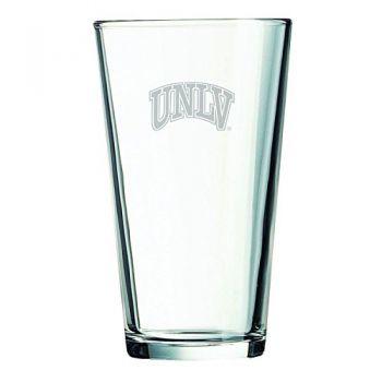 University of Nevada Las Vegas-16 oz. Pint Glass