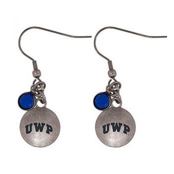 University of Wisconsin-Platteville-Frankie Tyler Charmed Earrings
