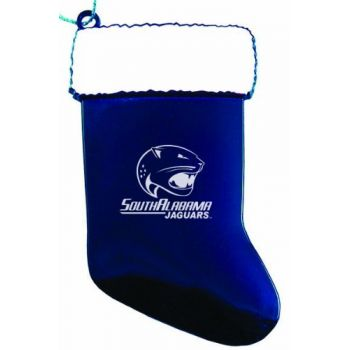 University of South Alabama - Christmas Holiday Stocking Ornament - Blue