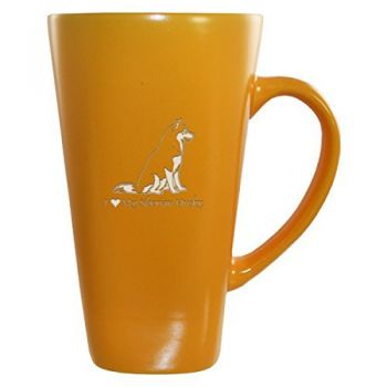 16 oz Square Ceramic Coffee Mug  - I Love My Siberian Huskie