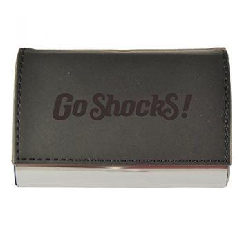 Velour Business Cardholder-Wichita State University-Black
