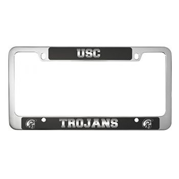 University of Southern California-Metal License Plate Frame-Black