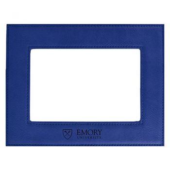 Emory University-Velour Picture Frame 4x6-Blue