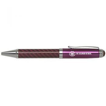St. Cloud State University -Carbon Fiber Mechanical Pencil-Pink