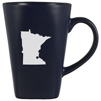 14 oz Square Ceramic Coffee Mug - I Heart Minnesota - I Heart Minnesota