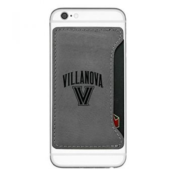 Villanova University-Cell Phone Card Holder-Grey