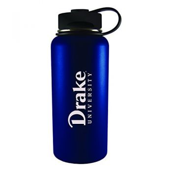 Drake University-32 oz. Travel Tumbler-Blue
