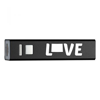 Colorado-State Outline-Love-Portable 2600 mAh Cell Phone Charger-