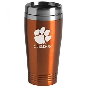 16 oz Stainless Steel Insulated Tumbler - Clemson Tigers