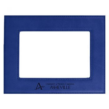 University of North Carolina at Asheville-Velour Picture Frame 4x6-Blue