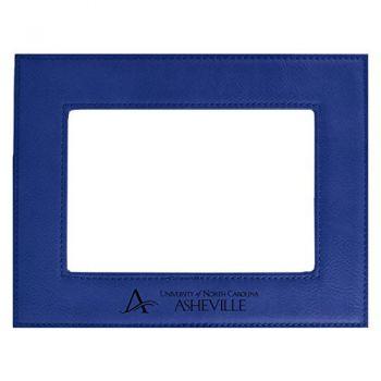 University of North Carolina at Asheville-Velour Picture Frame 4x6-Blue