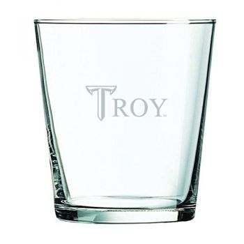 Troy University-13 oz. Rocks Glass