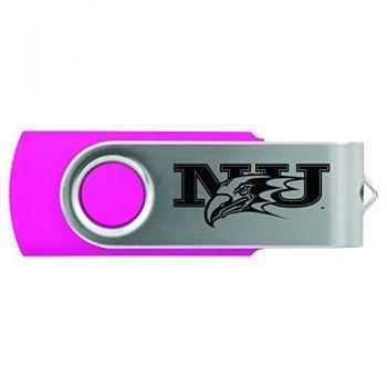 Niagara University -8GB 2.0 USB Flash Drive-Pink