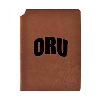 Oral Roberts University Velour Journal with Pen Holder|Carbon Etched|Officially Licensed Collegiate Journal|