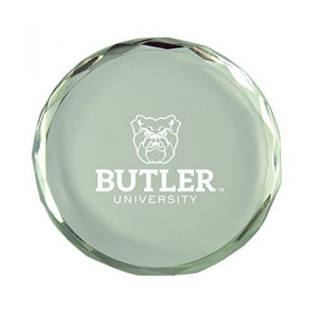 Butler University-Crystal Paper Weight