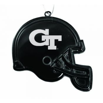 Georgia Institute of Technology - Christmas Holiday Football Helmet Ornament - Black