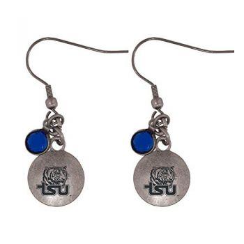 Tennessee State University-Frankie Tyler Charmed Earrings