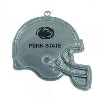 Pennsylvania State University - Chirstmas Holiday Football Helmet Ornament - Silver