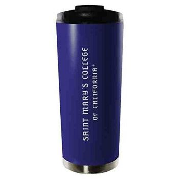 Saint Mary's College of California-16oz. Stainless Steel Vacuum Insulated Travel Mug Tumbler-Blue