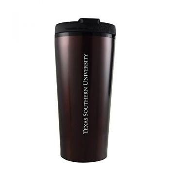 Texas Southern University -16 oz. Travel Mug Tumbler-Burgundy
