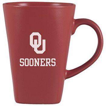 University of Oklahoma-14 oz. Ceramic Coffee Mug-Pink
