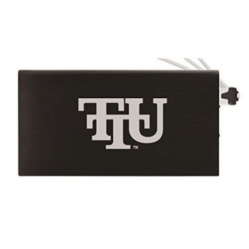 8000 mAh Portable Cell Phone Charger-Tennessee Technological University -Black