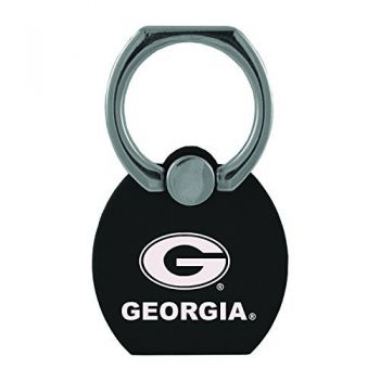 University of Georgia|Multi-Functional Phone Stand Tech Ring|Black