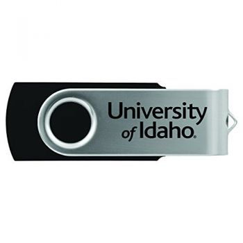 University of Idaho -8GB 2.0 USB Flash Drive-Black