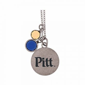 University of Pittsburgh-Frankie Tyler by LXG Charmed Necklace