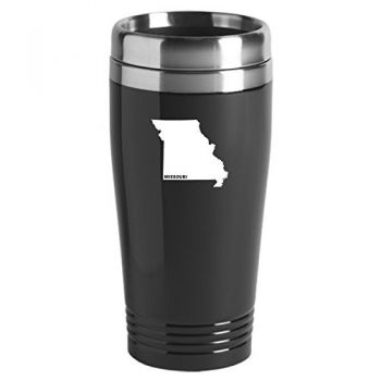 16 oz Stainless Steel Insulated Tumbler - Missouri State Outline - Missouri State Outline