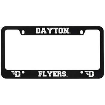 University of Dayton -Metal License Plate Frame-Black