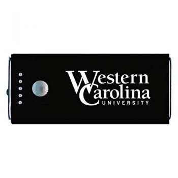 Western Carolina University -Portable Cell Phone 5200 mAh Power Bank Charger -Black