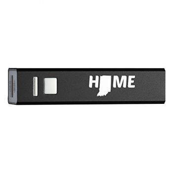 Quick Charge Portable Power Bank 2600 mAh - Indiana Home Themed - Indiana Home Themed