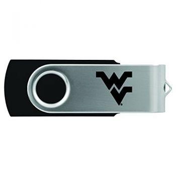 West Virginia University -8GB 2.0 USB Flash Drive-Black