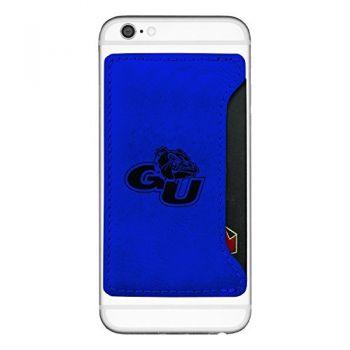 Gonzaga University-Cell Phone Card Holder-Blue