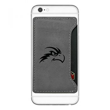 University of North Florida-Cell Phone Card Holder-Grey