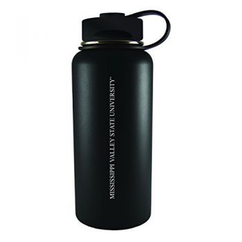 Mississippi Valley State University -32 oz. Travel Tumbler-Black