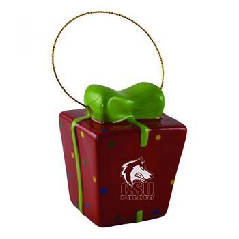 Colorado State University, Pueblo-3D Ceramic Gift Box Ornament