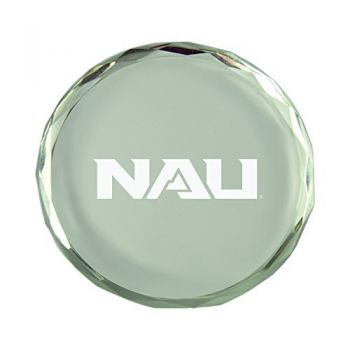 Northern Arizona University-Crystal Paper Weight