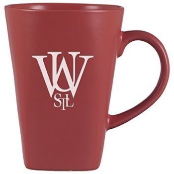Washington University in St. Louis-14 oz. Ceramic Coffee Mug-Pink
