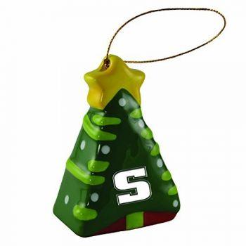 Slippery Rock University -Christmas Tree Ornament