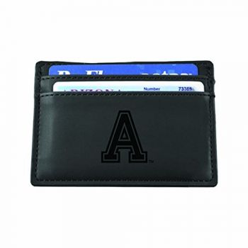 United States Military Academy at West Point-European Money Clip Wallet-Black