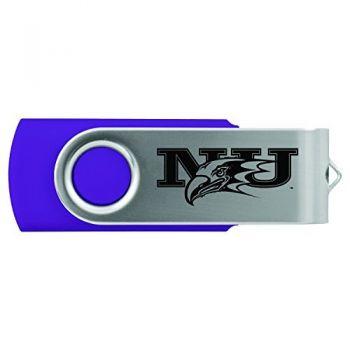 Niagara University -8GB 2.0 USB Flash Drive-Purple