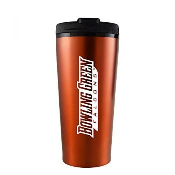 Bowling Green State University -16 oz. Travel Mug Tumbler-Orange