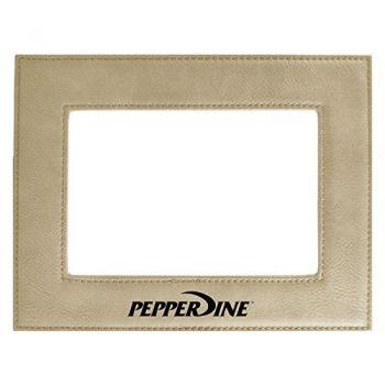 Pepperdine university-Velour Picture Frame 4x6-Tan