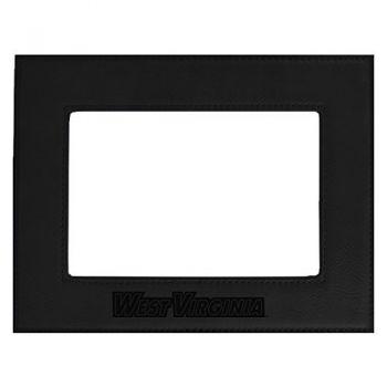 West Virginia University -Velour Picture Frame 4x6-Black
