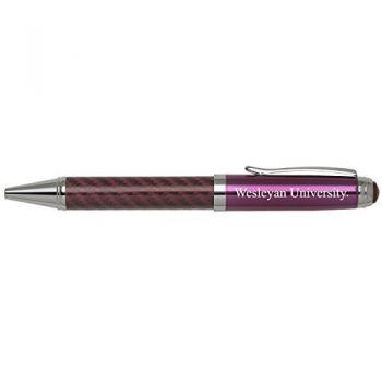 Wesleyan University -Carbon Fiber Mechanical Pencil-Pink