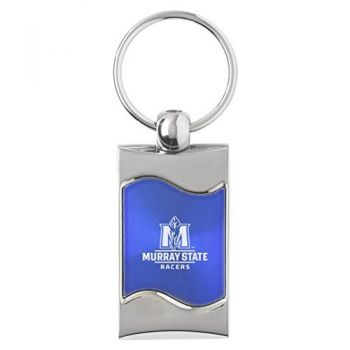 Murray State University - Wave Key Tag - Blue